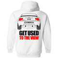 New Edge Ford Mustang Cobra Pullover Hoodie 1999 2000 2001 2002