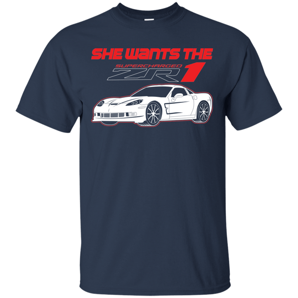 She Wants the ZR1 T-Shirt