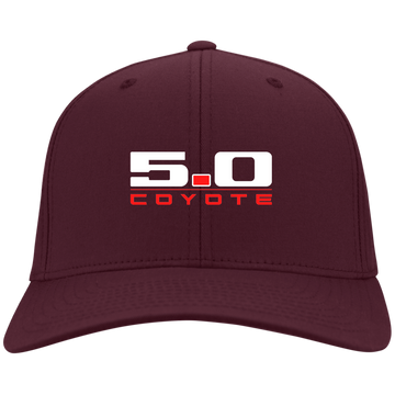 5.0 Coyote Mustang S197 S550 Flex Fit Twill Baseball Cap