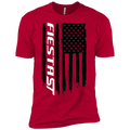 Youth Fiesta ST American Flag Boys' Cotton T-Shirt