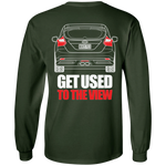 Ford Focus ST 2013 2014 T-Shirt Long Sleeve