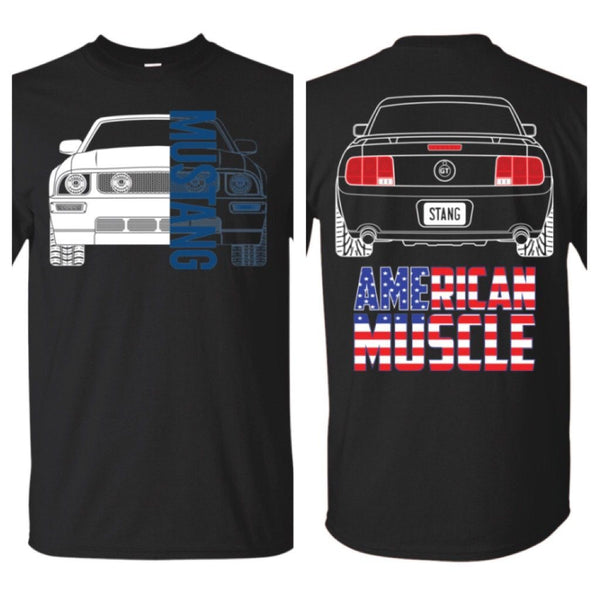 S197 Mustang 2005-2009 American Muscle T-Shirt