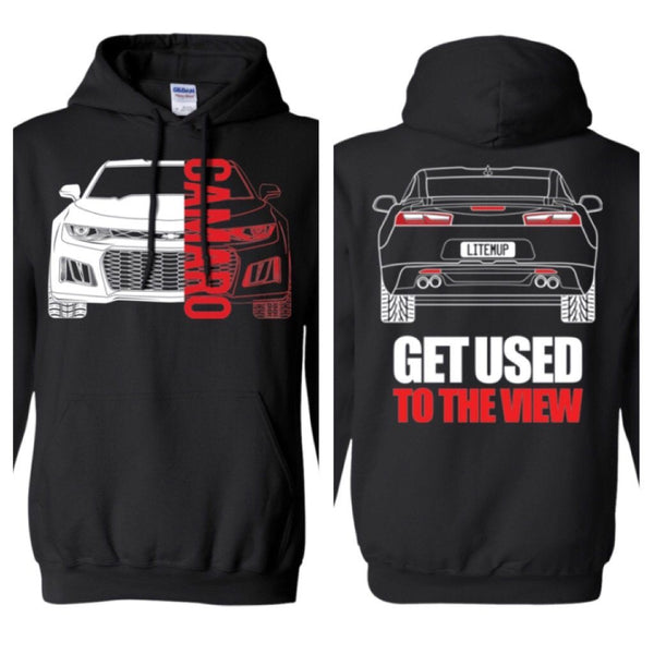 Camaro 6th Gen Double Sided Hoodie