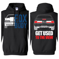 Foxbody Mustang LX Doube Sided Hoodie