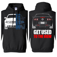 S197 Mustang (2013-2014) Double Sided Hoodie