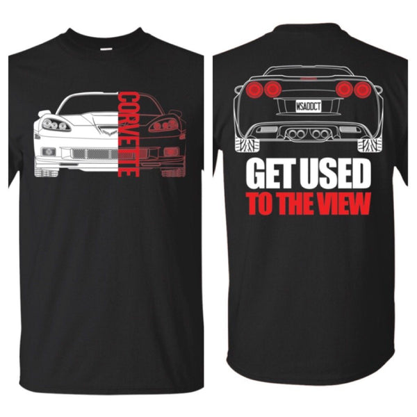 C6 Corvette Double Sided T-Shirt