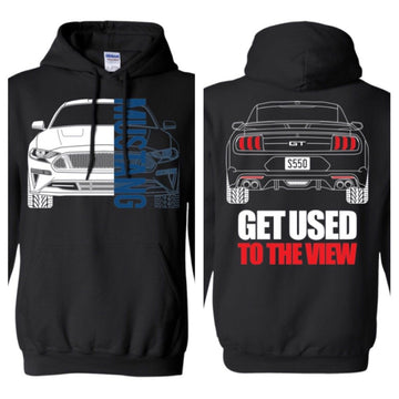 S550 Mustang GT Double Sided (18-Current)  Hoodie