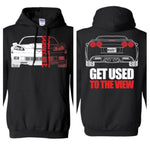 C6 Corvette Double Sided Hoodie