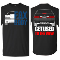 Ford Mustang Foxbody GT Double Sided T-Shirt New
