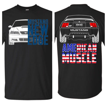New Edge Mustang GT American Muscle T-Shirt