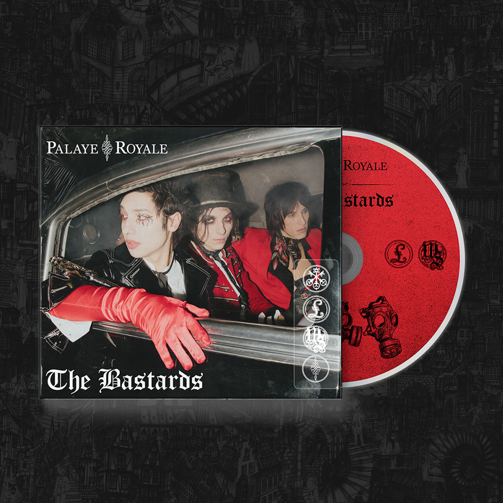 Palaye Royale - 'The Bastards' Album CD Digipak (Pre-Order)