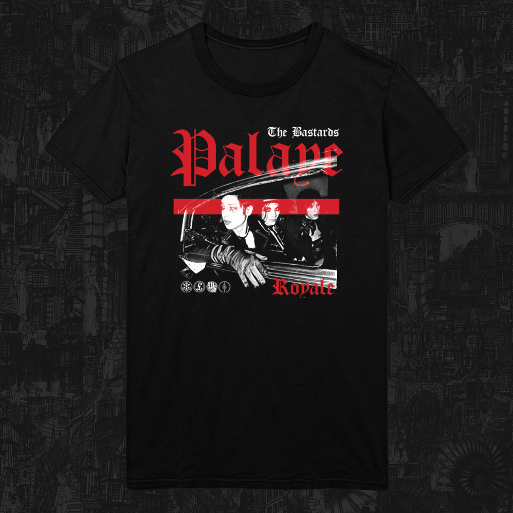Palaye Royale - 'Album Cover' T-Shirt (Pre-Order)