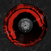 Palaye Royale - 'The Bastards' Vinyl Red & Black Side A/B Merge (Pre-Order)