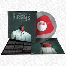 Sleeping With Sirens - 'How It Feels to Be Lost' Neon Red Inside Clear Gatefold Vinyl