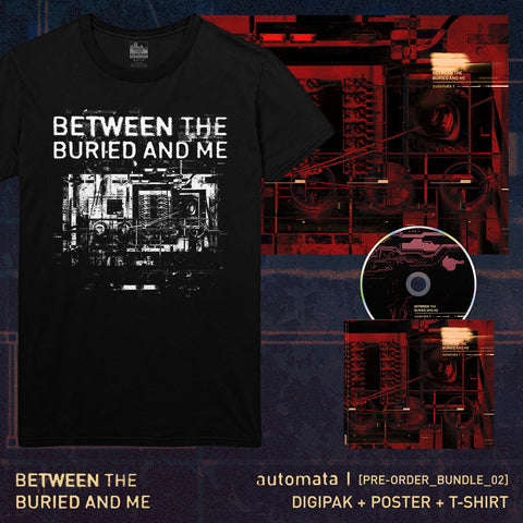 Between The Buried And Me - 'Automata I' Pre-Order Bundle 2