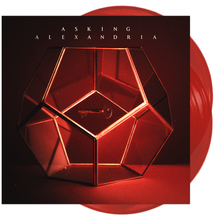 Asking Alexandria - Asking Alexandria Transparent Red / Worldwide Retail Variant