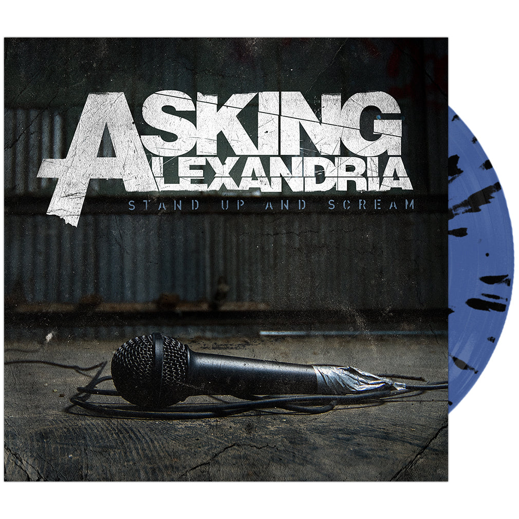 Asking Alexandria - 'Stand Up And Scream' Sky Blue w/Black Splatter Vinyl