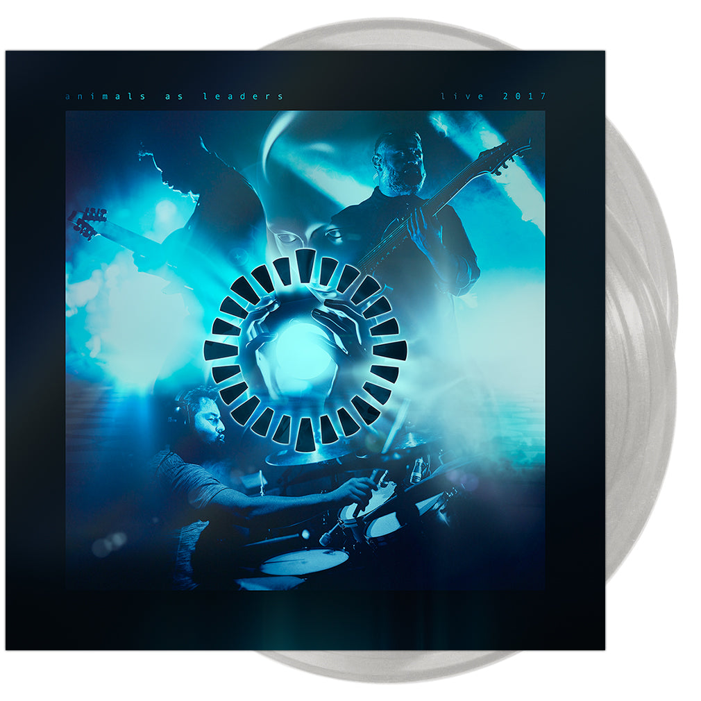 Animals As Leaders - 'Live 2017' 2xLP Vinyl (Transparent Cloudy Clear)