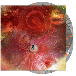 Animals As Leaders - 'The Joy of Motion' Clear w/ Neon Orange & Green Splatter Vinyl Pre-Order