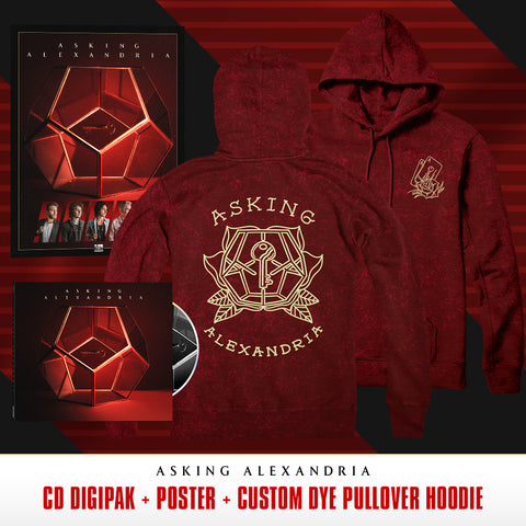 Asking Alexandria - 'Asking Alexandria' Pre-Order Bundle 5