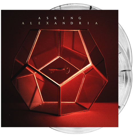 Asking Alexandria - 'Asking Alexandria' Clear w/ Black Splatter Vinyl