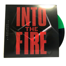 "Asking Alexandria - 'Into The Fire' Single 7"" Green/Black Half & Half Vinyl"