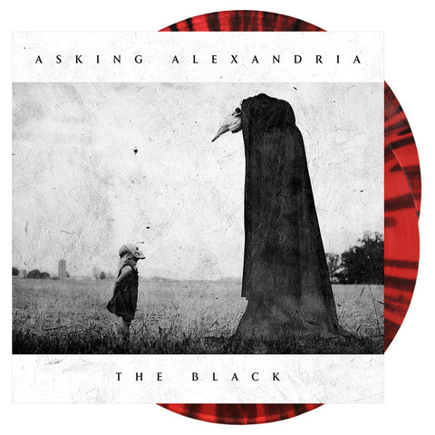 Asking Alexandria - The Black 'Opaque Red' Vinyl