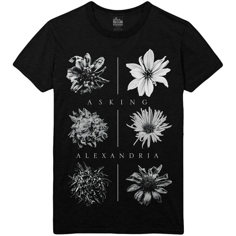 Asking Alexandria - Withered Flower Tee