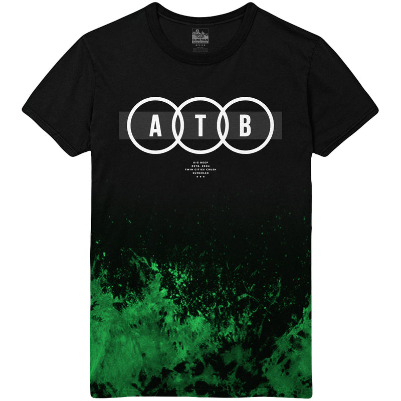 After The Burial - Circles Splatter Dip Tee