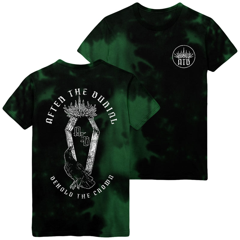 After The Burial - Behold the Crown Custom Wash Tee