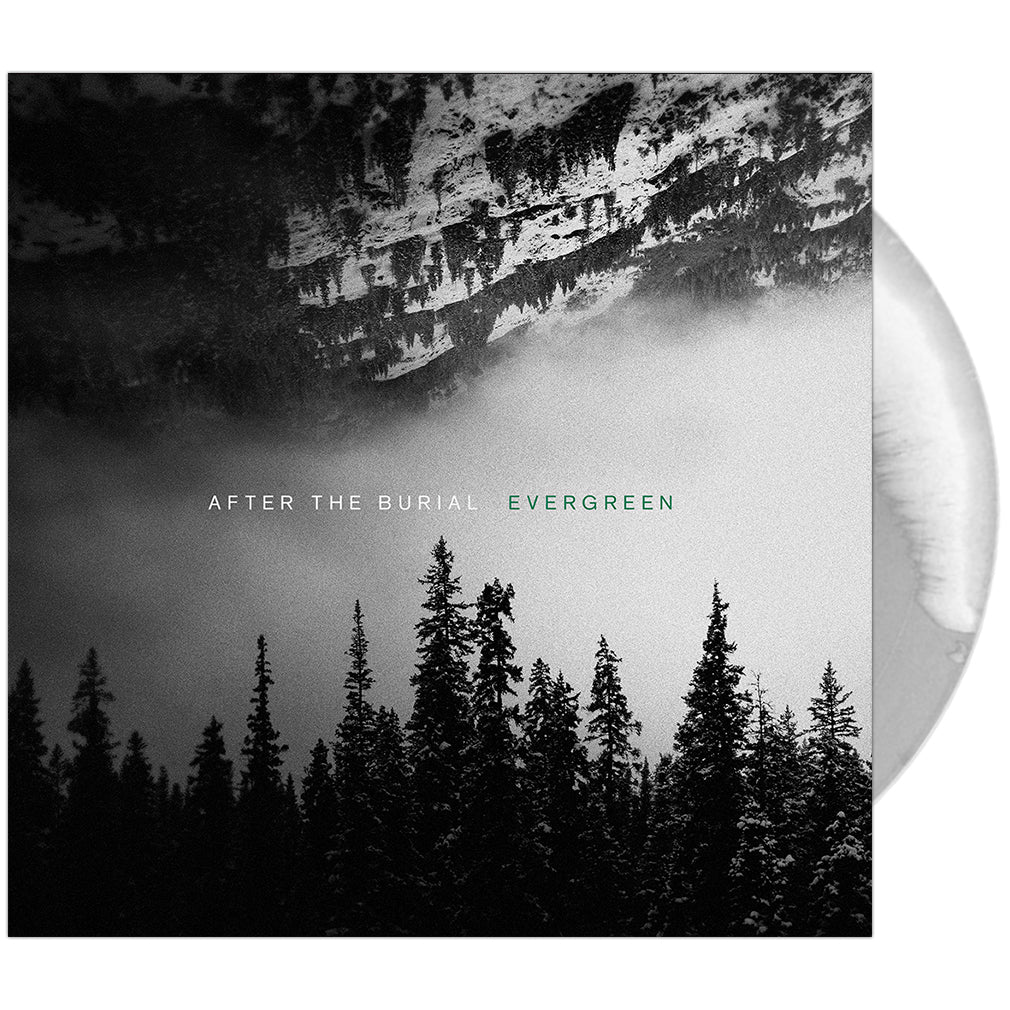After The Burial - 'Evergreen' Silver & White Vinyl