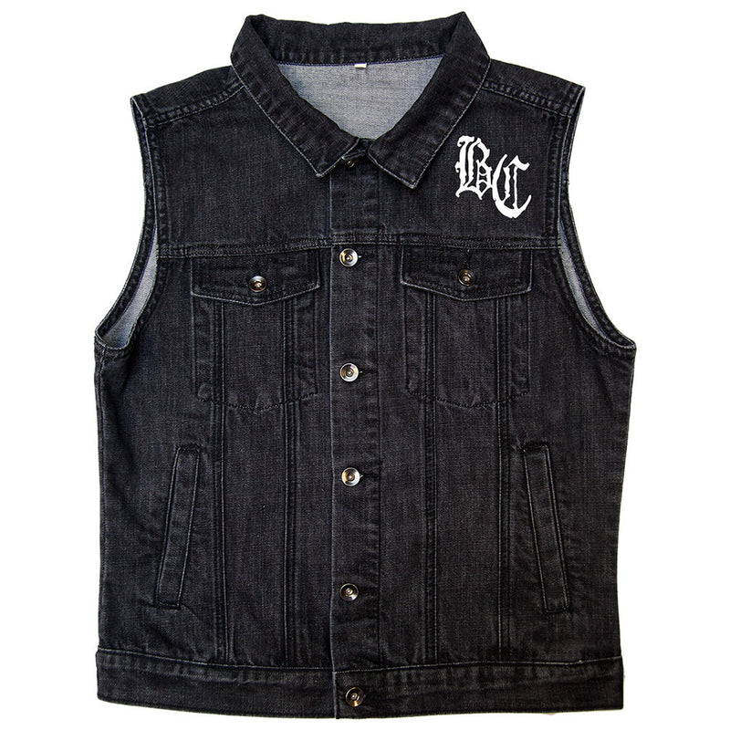 Body Count Vintage Black Vest