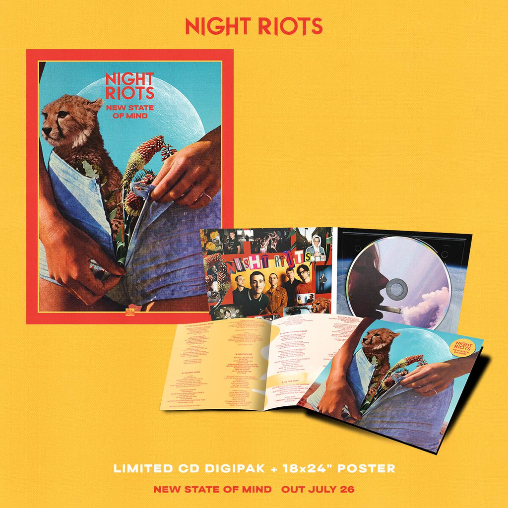 Night Riots - 'New State of Mind' CD Digipak Pre-Order Bundle