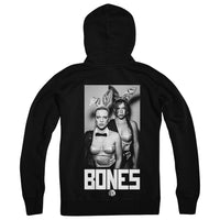 BONES UK - Bones Black Zip Up Hoodie