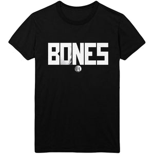 BONES UK - Bones Logo Black Tee