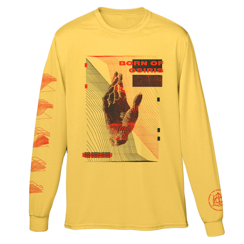 Born Of Osiris - Man & Machine Long Sleeve