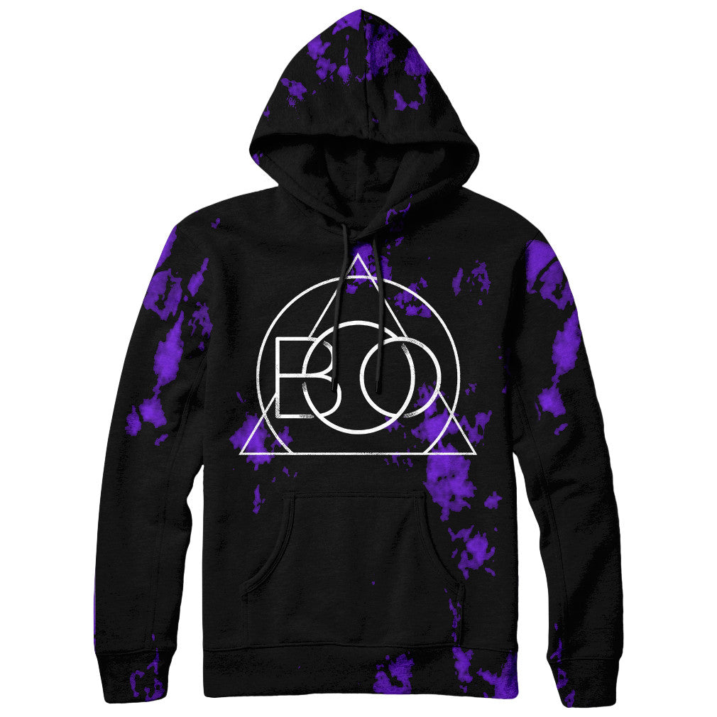 Born Of Osiris - Purple Dye Hoodie – Sumerian Merch 4e6de965c4b