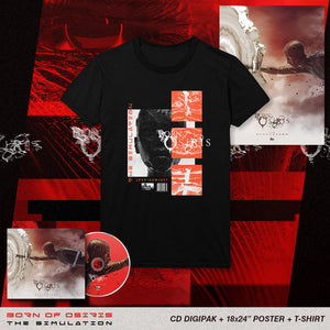 Born Of Osiris - 'The Simulation' Album Art Tee Pre-Order Bundle
