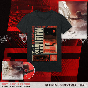 Born Of Osiris - 'The Simulation' Reanimate Tee Pre-Order Bundle