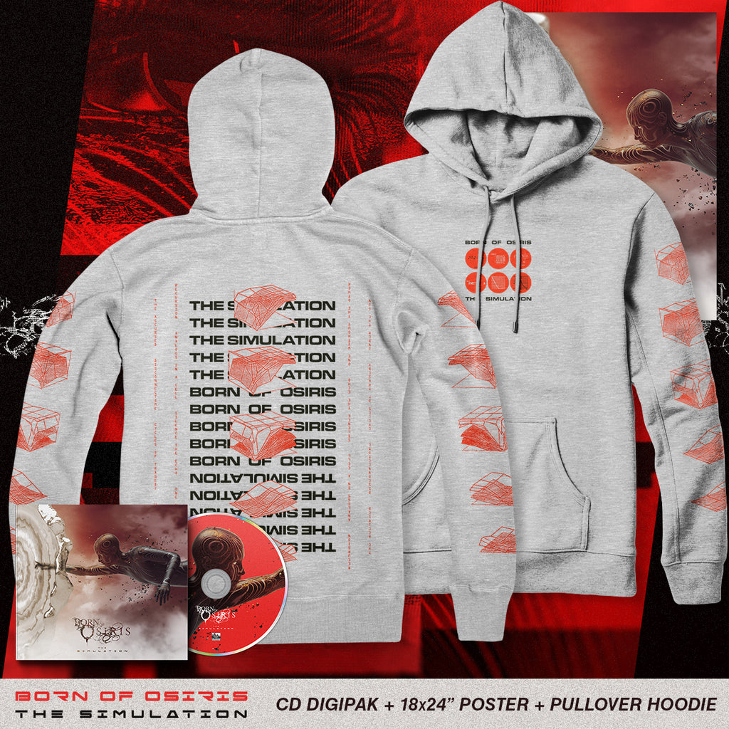 Born Of Osiris - 'The Simulation' Analogs Hoodie Pre-Order Bundle