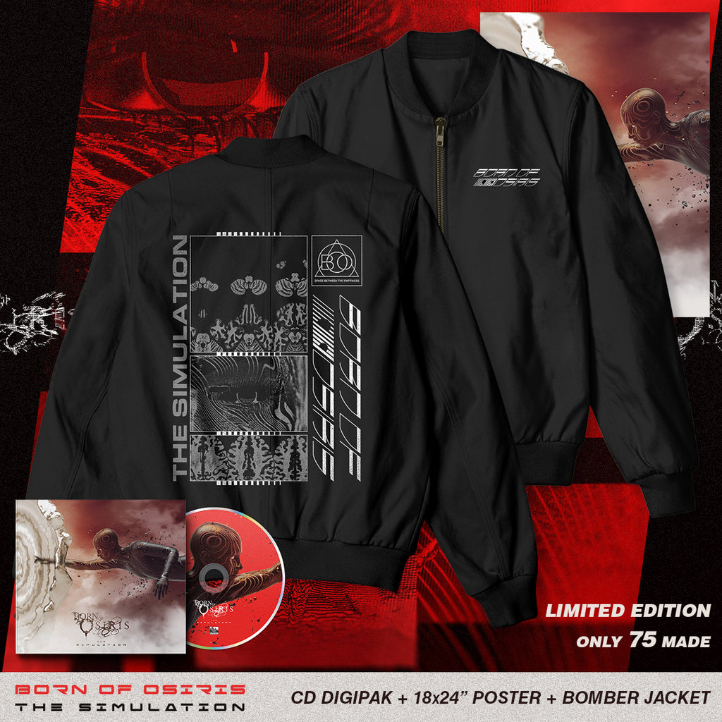 Born Of Osiris - 'The Simulation' Echo Lightweight Bomber Pre-Order Bundle