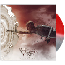 Born Of Osiris - 'The Simulation' Half & Half Red/Silver Vinyl