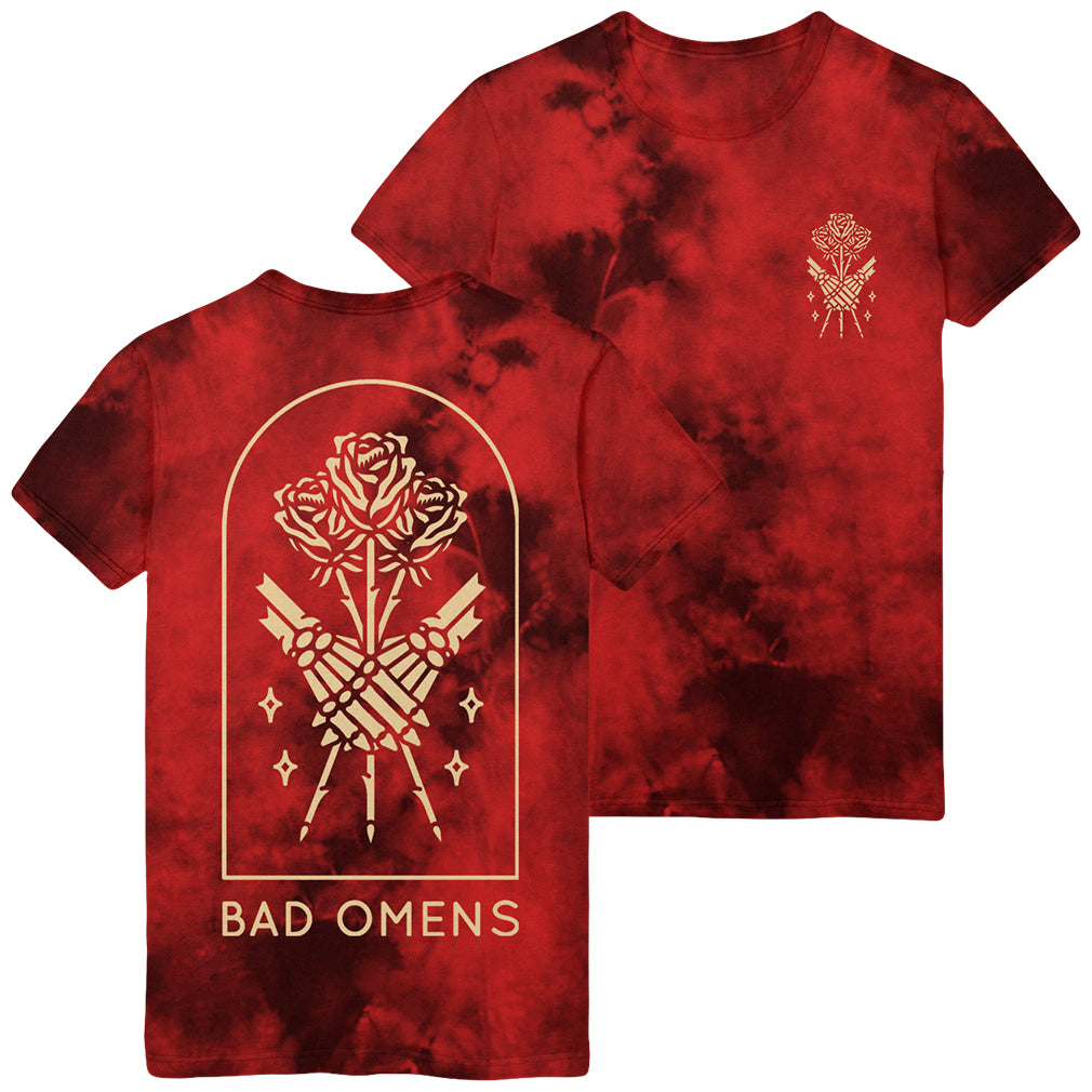 Bad Omens - Lovers Red Wash Tee