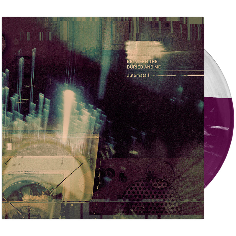 Between The Buried And Me - 'Automata II' Magenta & Clear Half & Half Vinyl