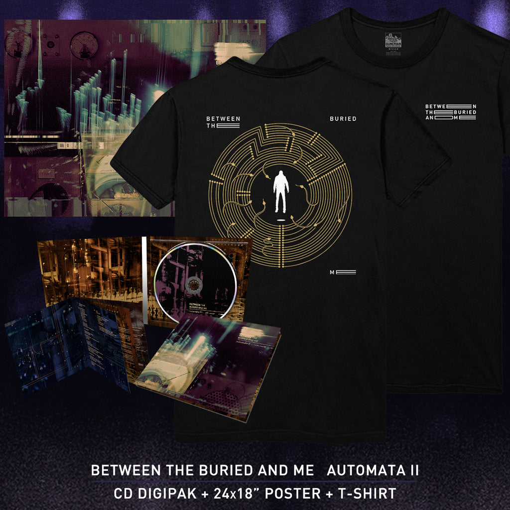 Between The Buried And Me - 'Automata II' Serpent Tee Pre-Order Bundle