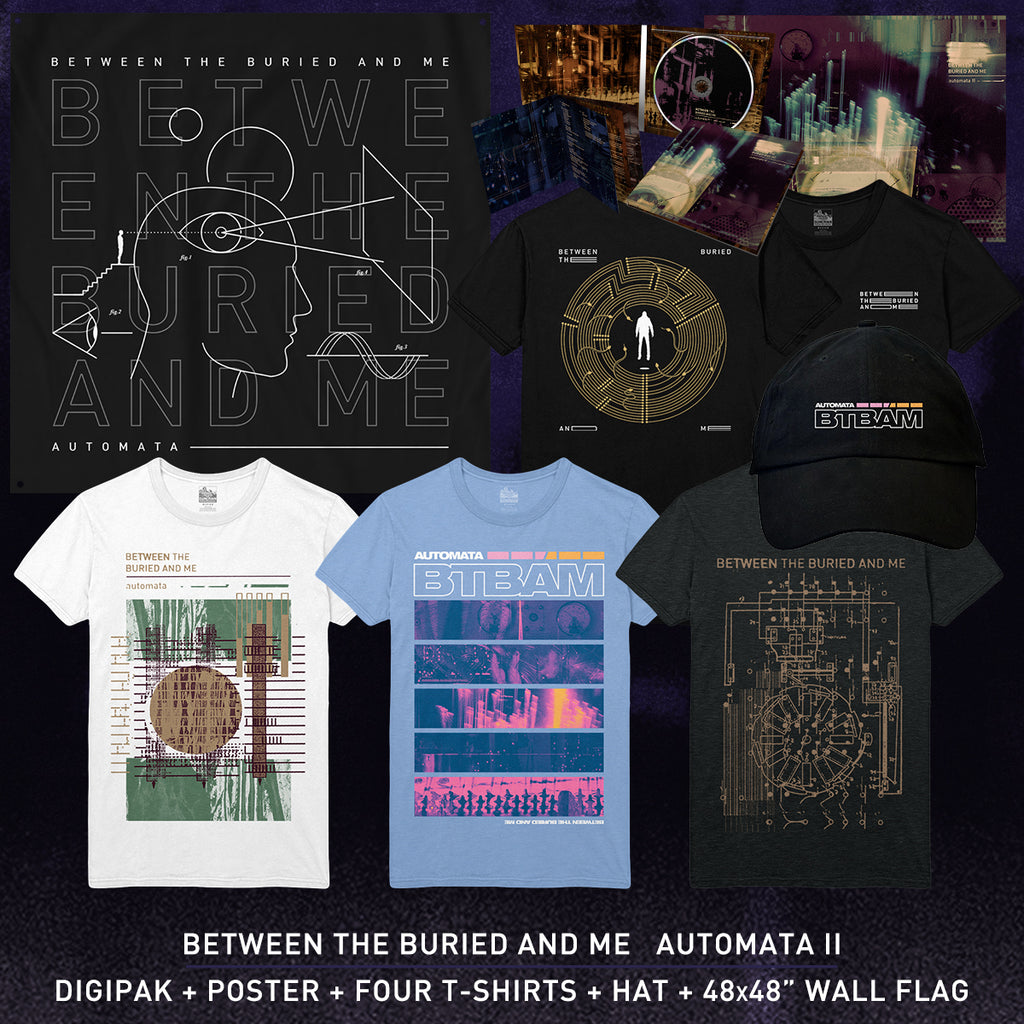 Between The Buried And Me - 'Automata II' Ultimate Pre-Order Bundle