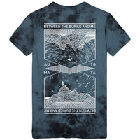 Between The Buried And Me - Wireframe Custom Wash Tee