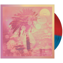 CHON - 'Homey' Half & Half Opaque Red & Blue Vinyl