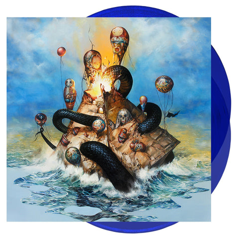 Circa Survive - Descensus 'Trans Blue' Vinyl