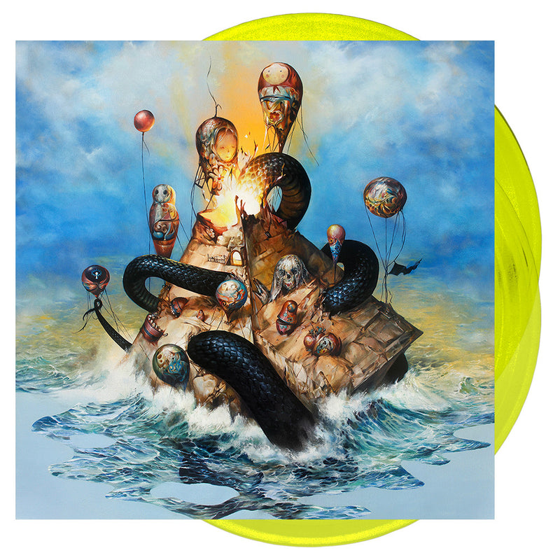 Circa Survive - 'Descensus' Trans Yellow Vinyl